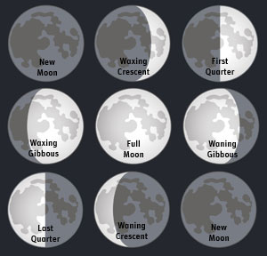The Next Full Moons Moon-Phases